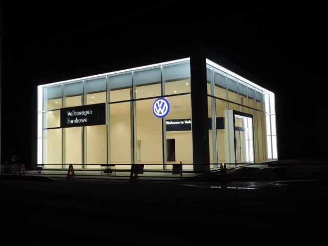 Volkswagen古川店新築工事
