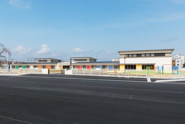 築館地区幼稚園建設建築工事