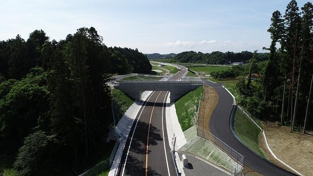 みやぎ県北高速幹線道路(築館工区)舗装工事(その3)